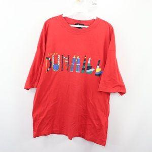 90s Alfred Dunhill Mens Medium Nautical Flag Shirt